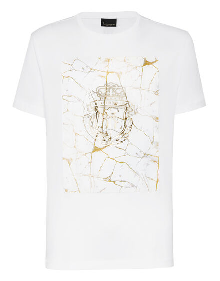 T-shirt Round Neck SS Marbled