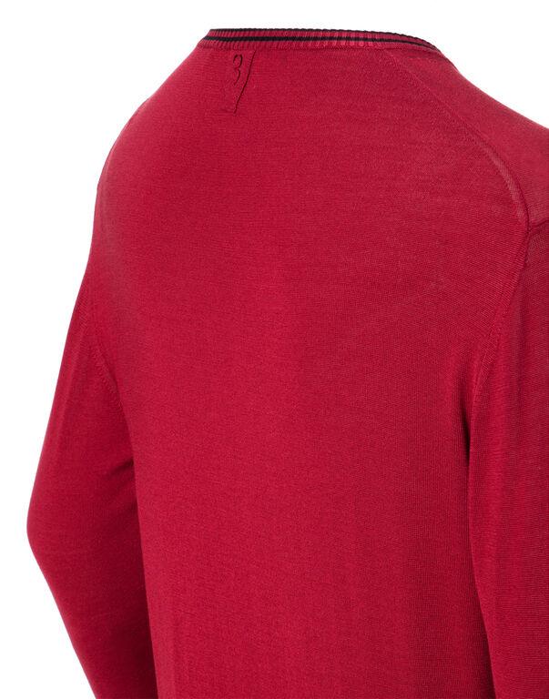"""Pullover V-Neck LS """"Florent"""""""