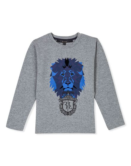T-shirt Round Neck LS Royal Mind