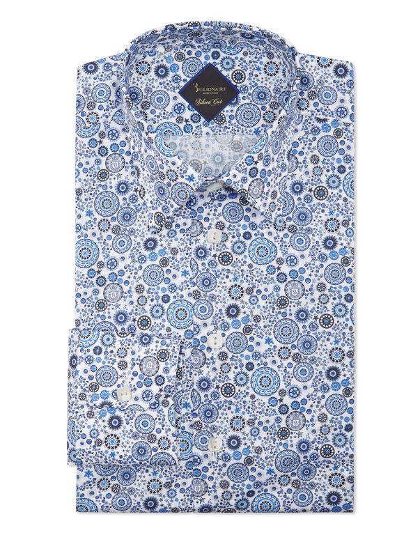 Shirt Silver Cut LS/Milano/Multi/ Original