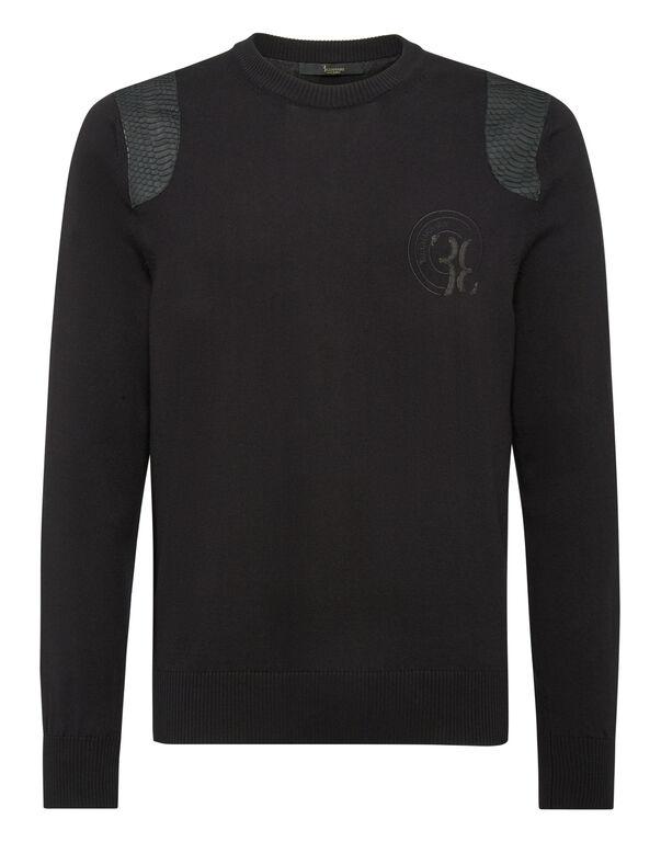 Pullover Round Neck LS Luxury
