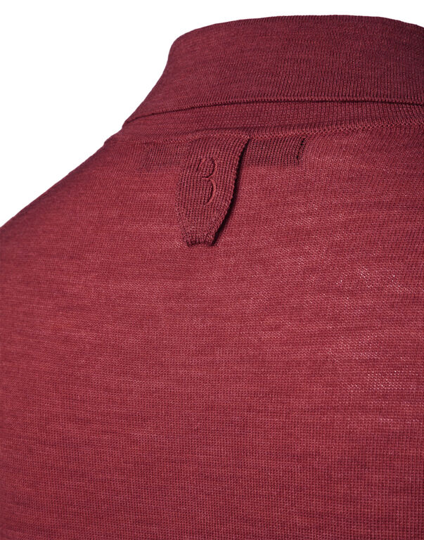 """Pullover Polo Neck LS """"Chance"""""""