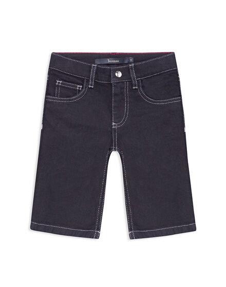 Short Denim Trousers Crest