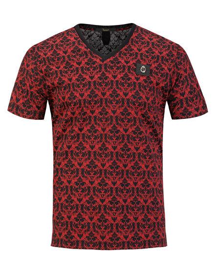 T-shirt V-Neck SS Tiger