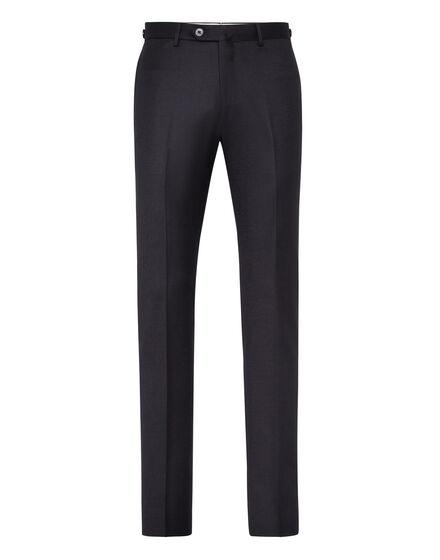 Slim Trousers Logos