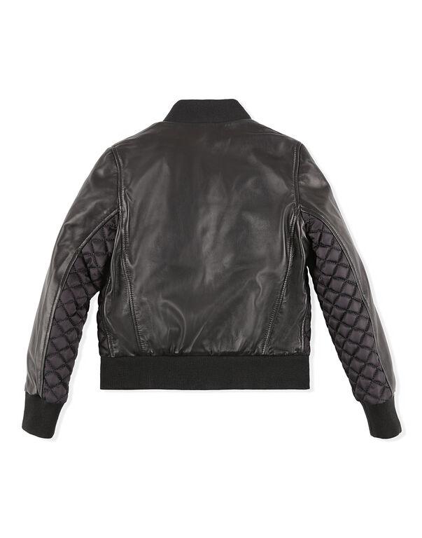 Leather Bomber Crest