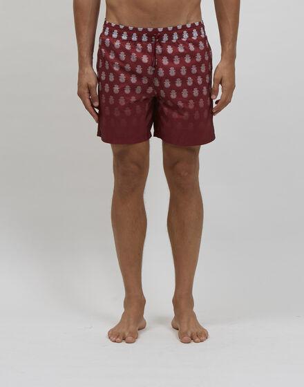 Beachwear Short Trousers All over Crest
