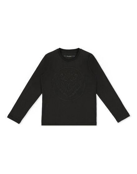 T-shirt Round Neck LS Lion