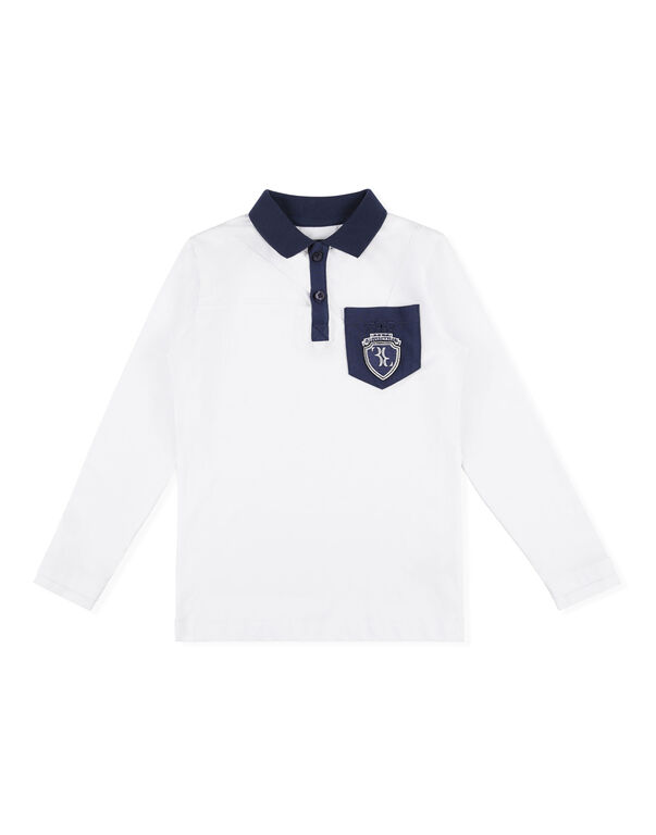 Polo shirt LS Crest