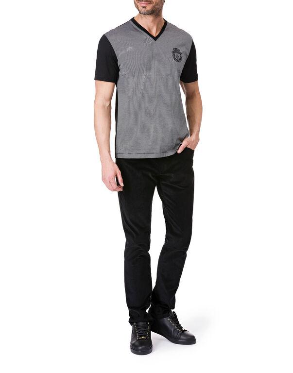 "T-shirt V-Neck SS ""Harès"