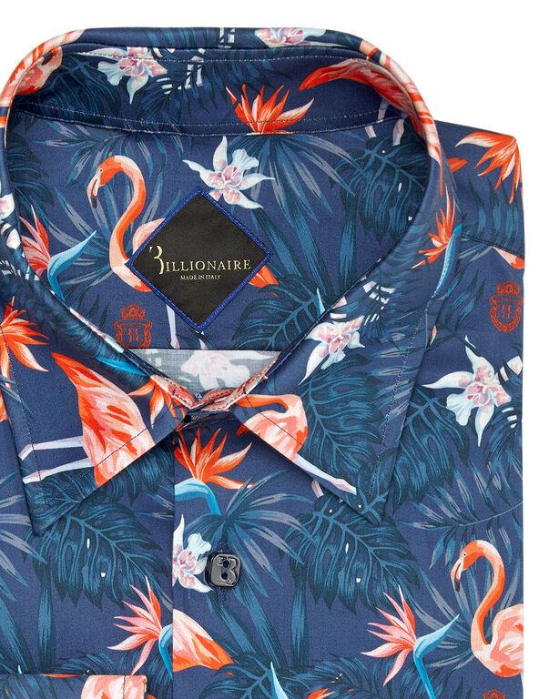 Shirt Gold Cut LS/Milano Palms