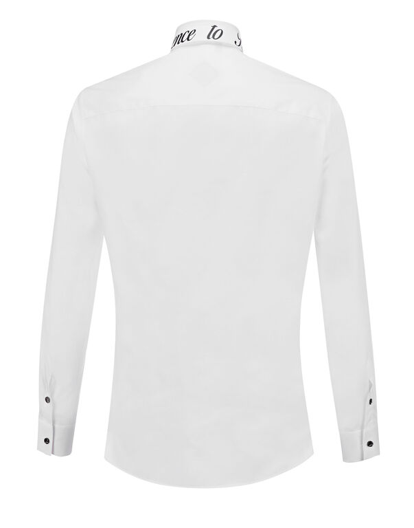 "Shirt Crystal cut LS ""Cyprien"""
