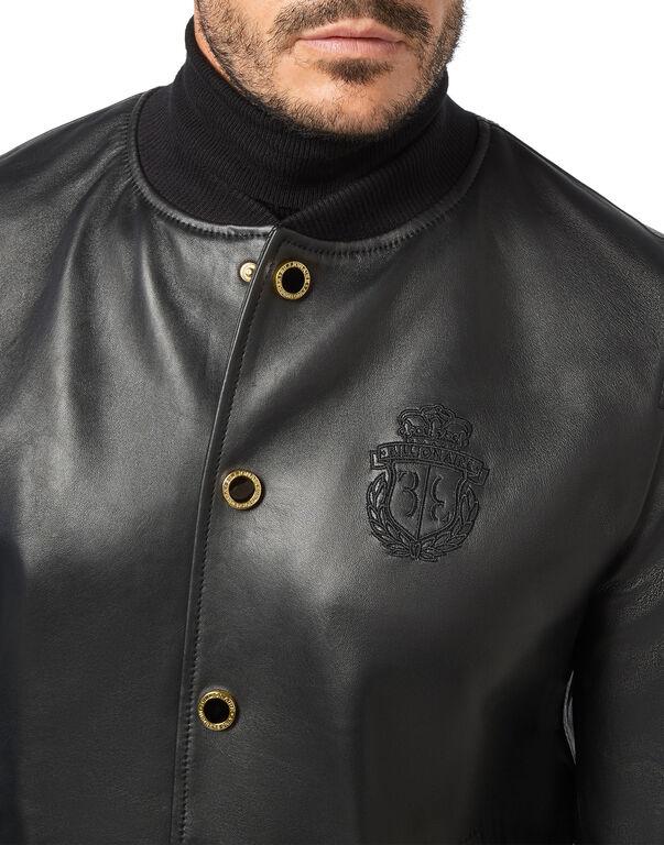 Leather Jacket Lion