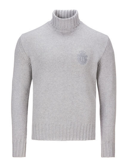 Turtle Neck LS Crest