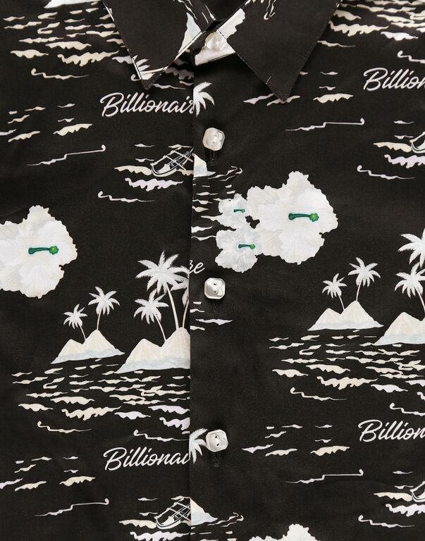 Shirt LS Palms