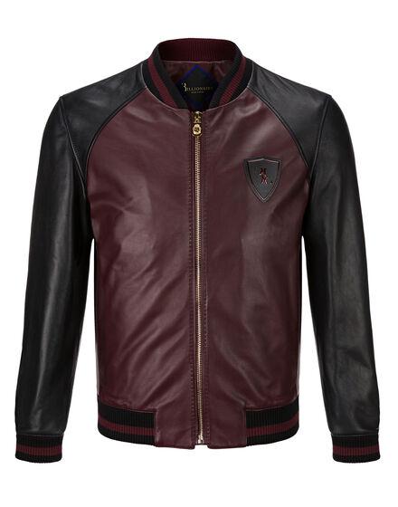 Leather Bomber Roland