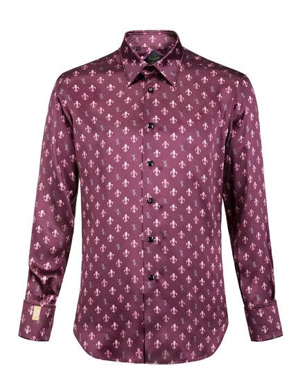 Shirt Silver Cut LS Basilio