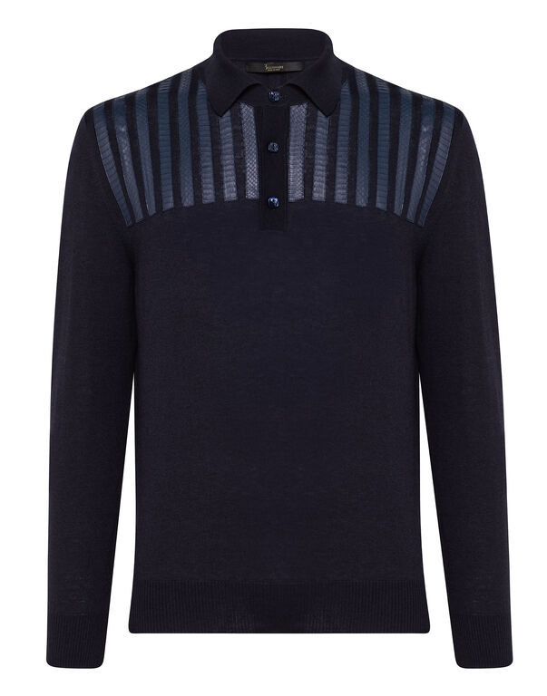 Pullover Polo-Neck LS Luxury