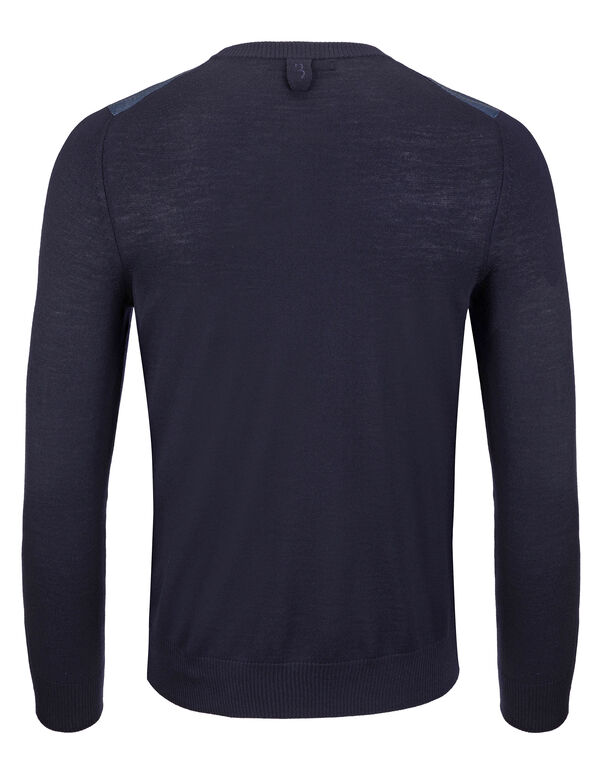 """Pullover Round Neck LS """"Buding"""""""