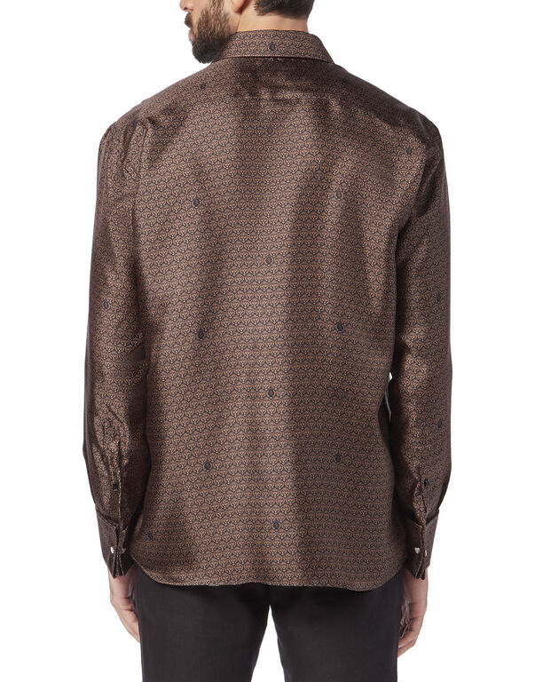 Shirt Gold Cut LS / Milano Lion
