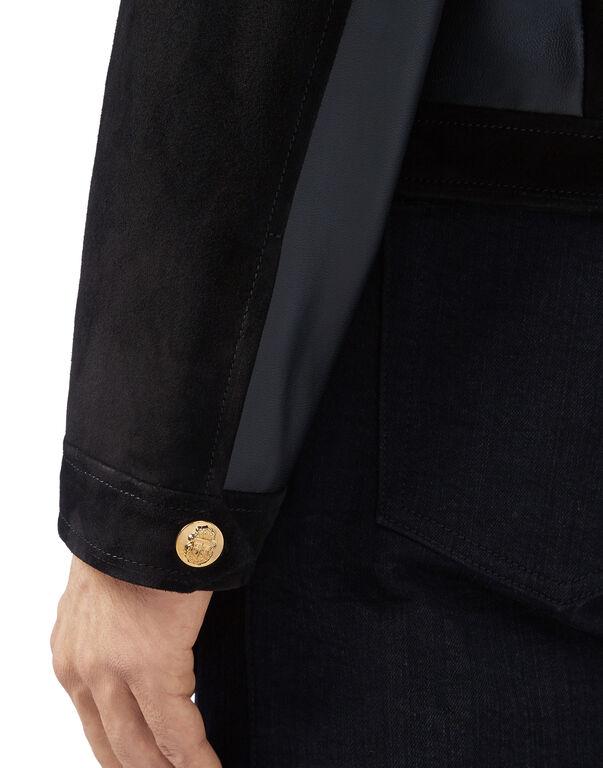 Leather Jacket Double B
