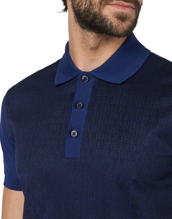 Polo shirt SS All over BB