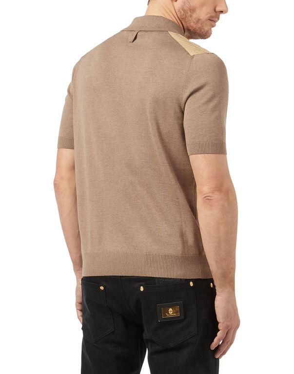Pullover Polo-Neck SS Double B