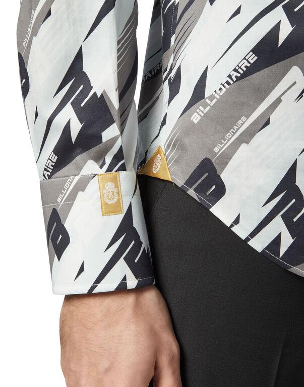 Shirt Gold Cut LS/Milano Cars Racing