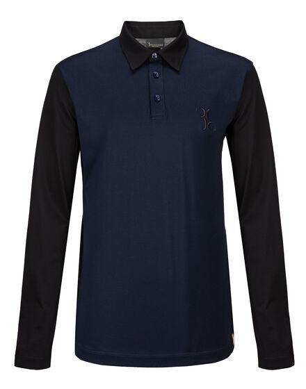 Polo shirt LS Double B