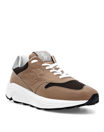 Runner mix leathers Crest