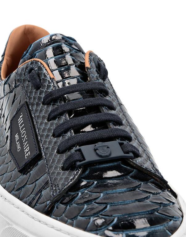 Python Lo-Top Sneakers Luxury