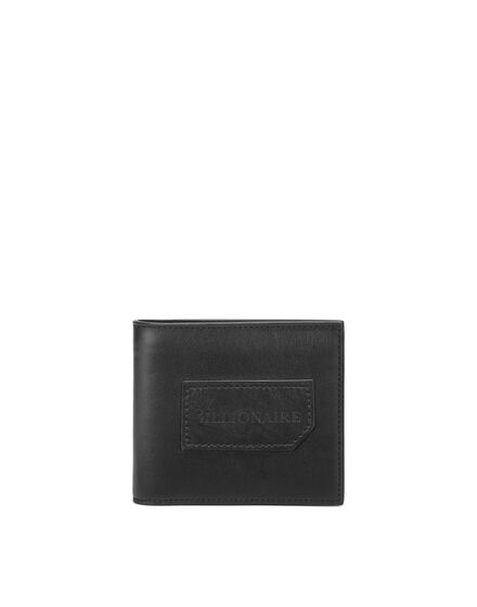 Leather French wallet Istitutional
