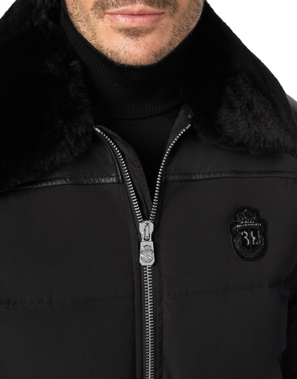 Bomber with Fur Luxury