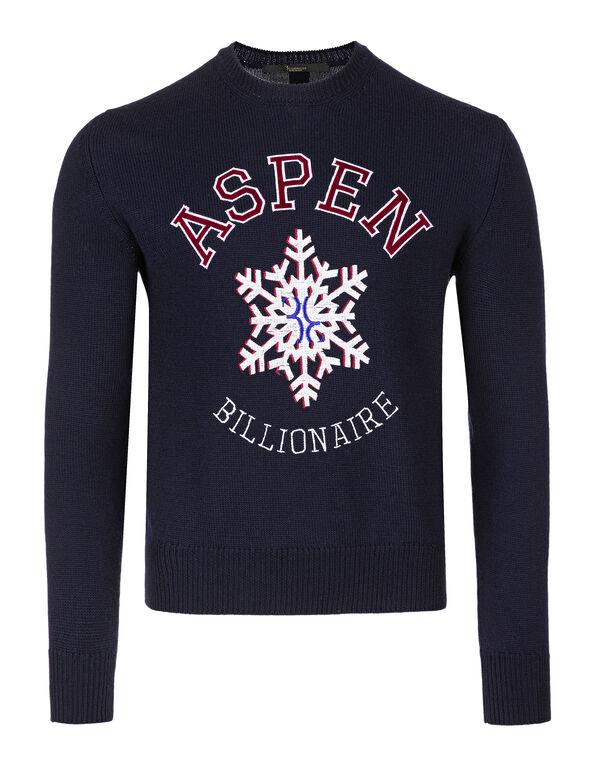 Pullover Round Neck LS Winter Club