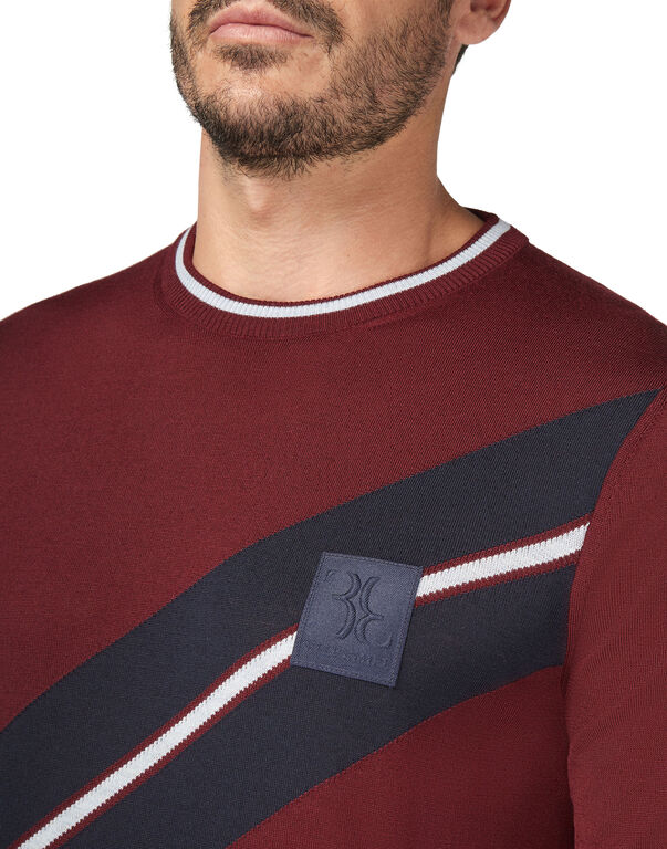 Pullover Round Neck LS Cars Racing
