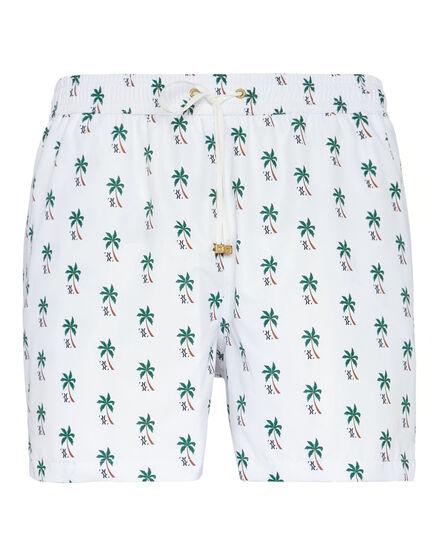 Beachwear Short Trousers Palms