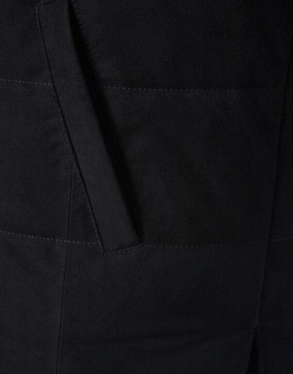 Leather Vest Short Statement