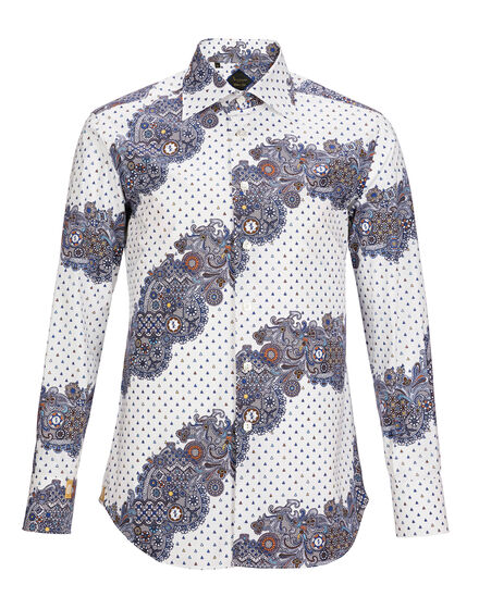 Shirt Silver Cut LS Flavio