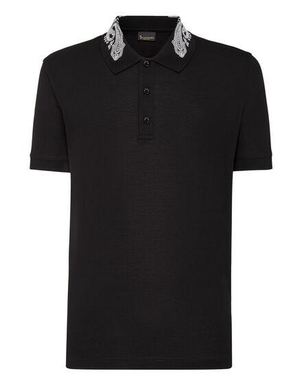 Polo shirt SS Paisley