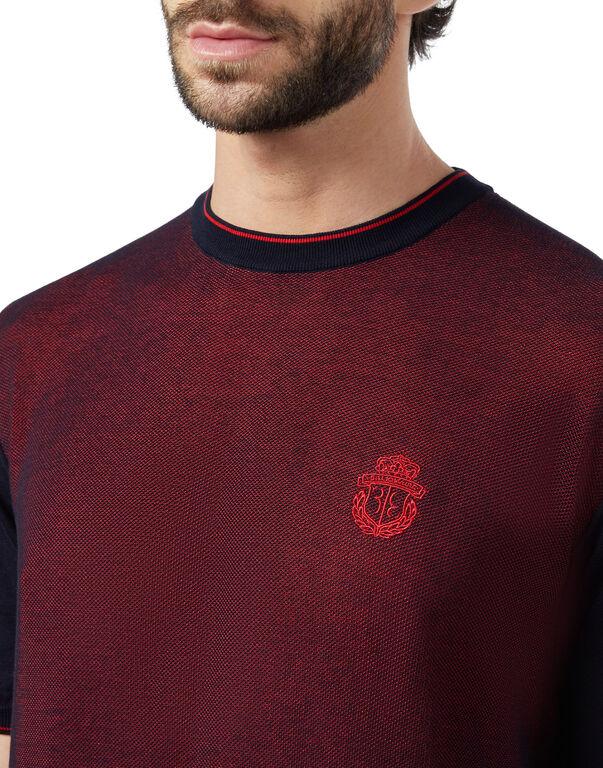 Pullover Round Neck SS Crest