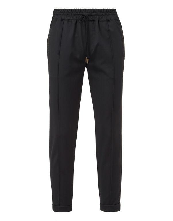 Knit Jogging Trousers - T Crest