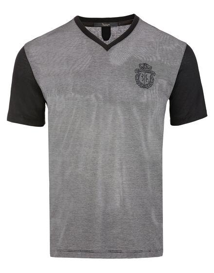 T-shirt V-Neck SS Harès