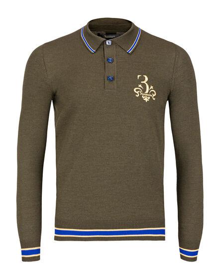 Pullover Polo-Neck LS Gustav
