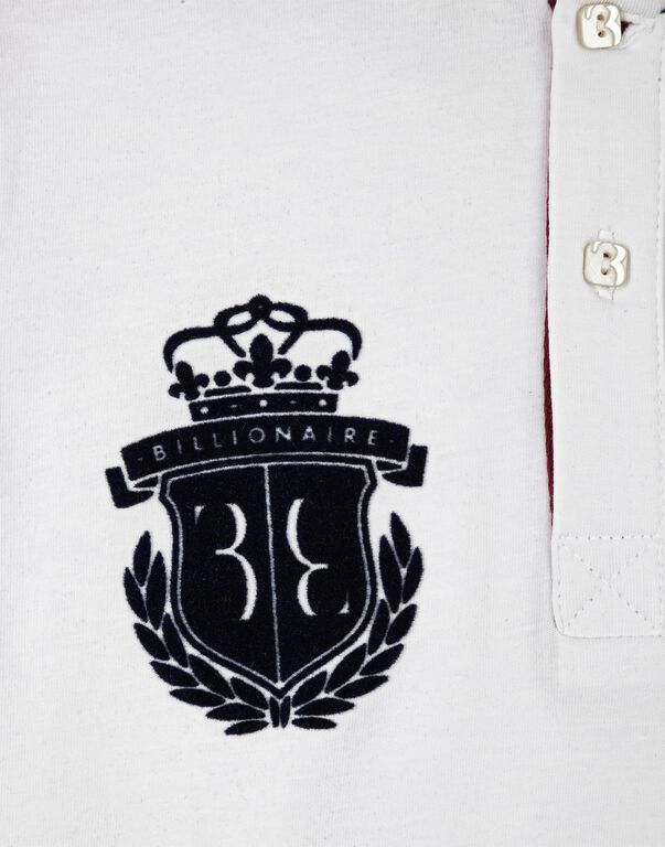 "Polo shirt LS ""Royal key"""