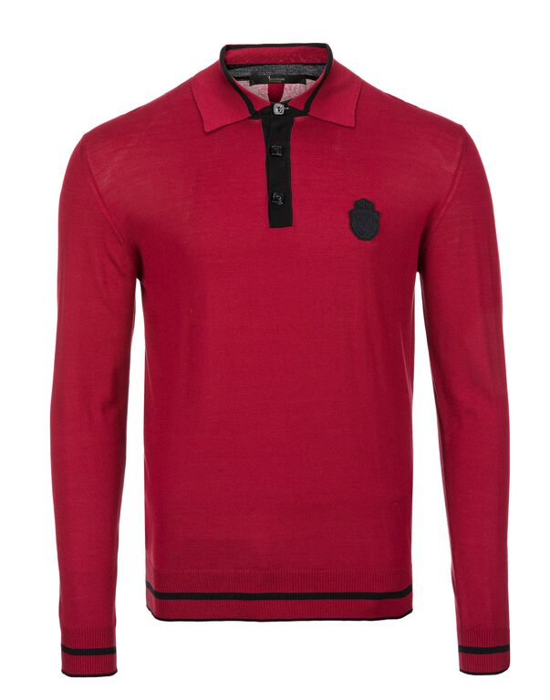 """Pullover Polo-Neck LS """"Francoise"""""""