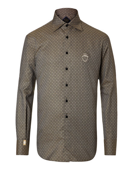 Shirt Gold Cut LS Clement