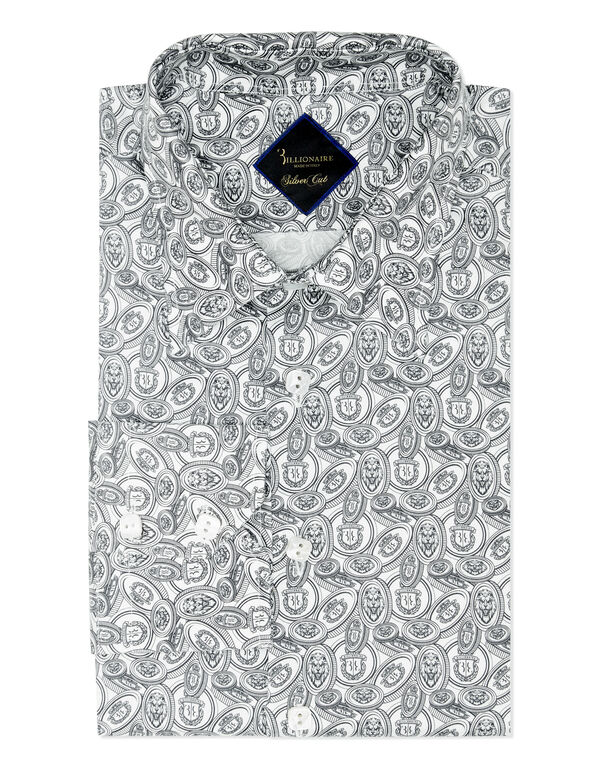 Shirt Silver Cut LS/Milano Money