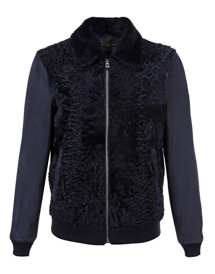 Leather Bomber Tanguy