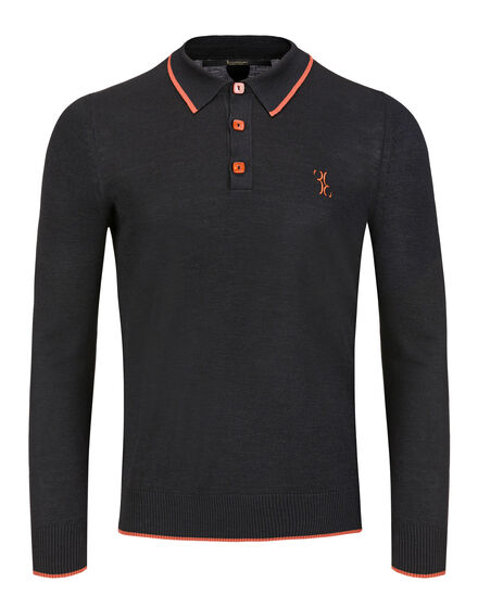 Pullover Polo-Neck LS Patrick