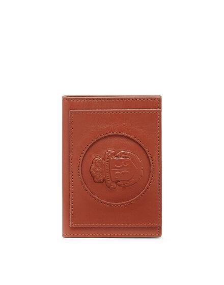 Leather Credit Cards Holder Crest